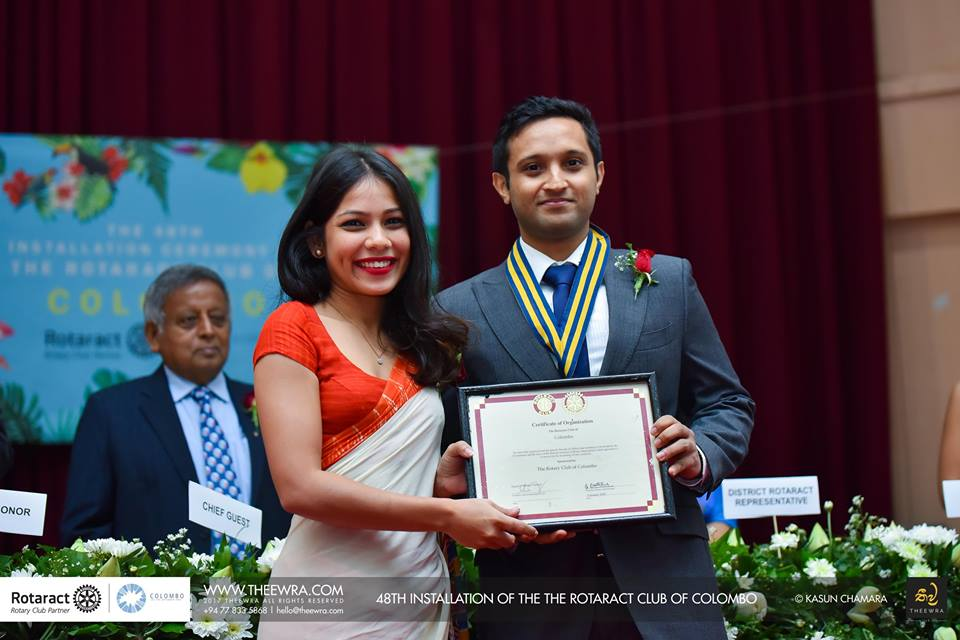 The 48th Installation Ceremony of the Rotaract Club of Colombo