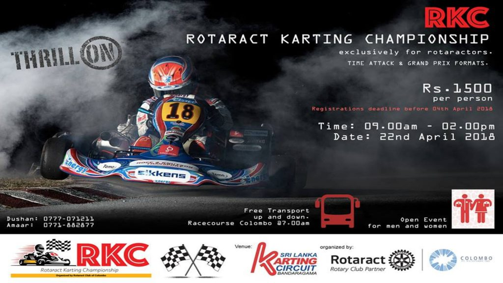 Karting with Rotaractors!